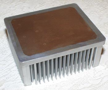 Радиатор снизу
